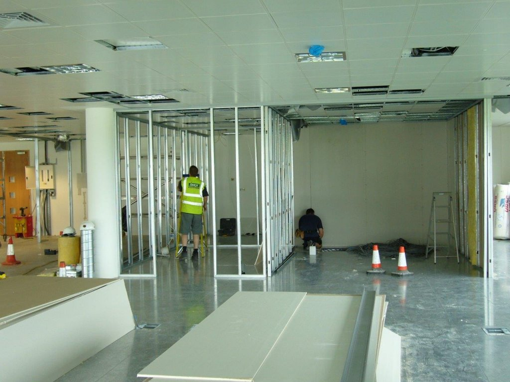 Demountable Partitioning in Bridgewater