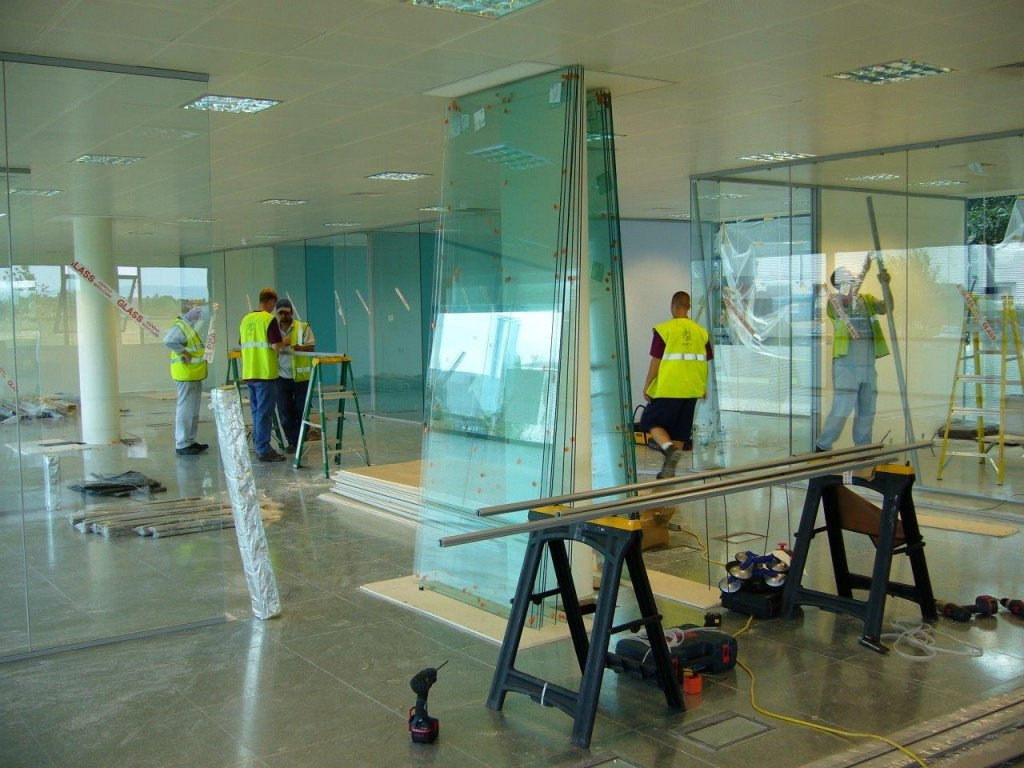 Glass Partitioning for BNG