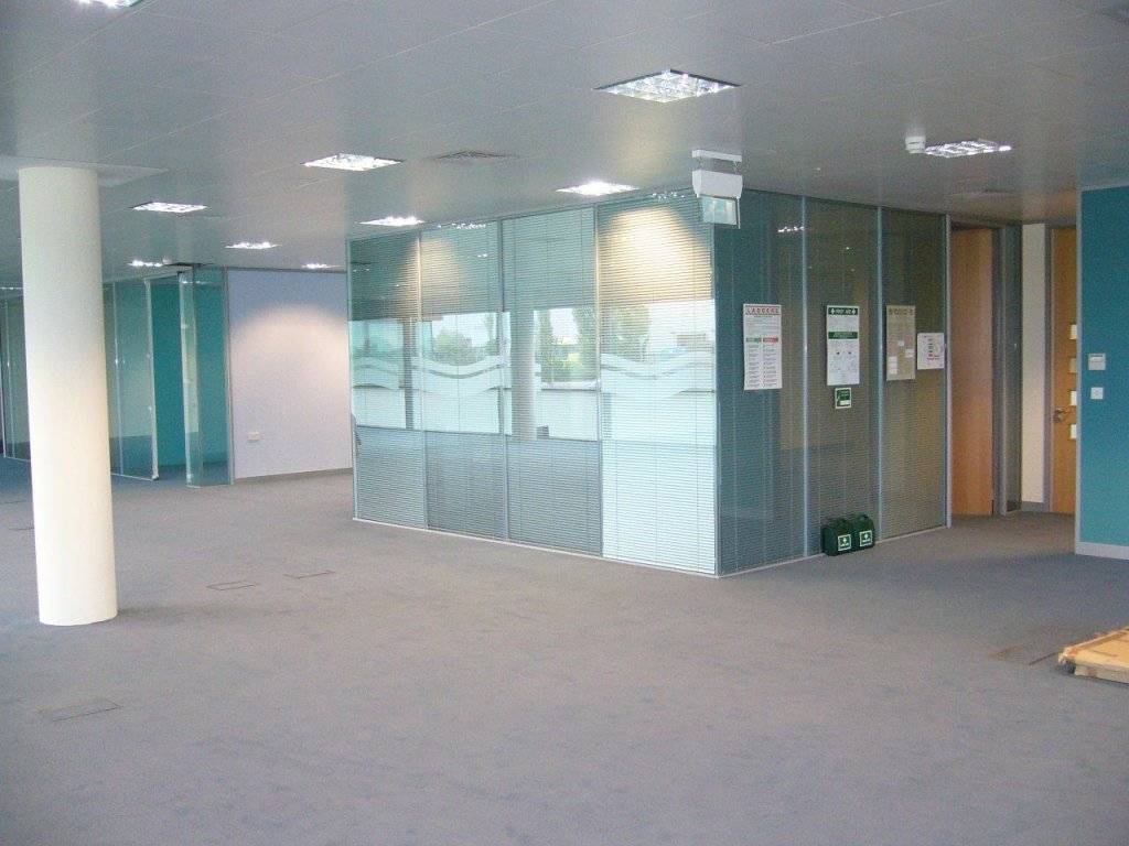 Glass office partitions for BNG Bridgewater