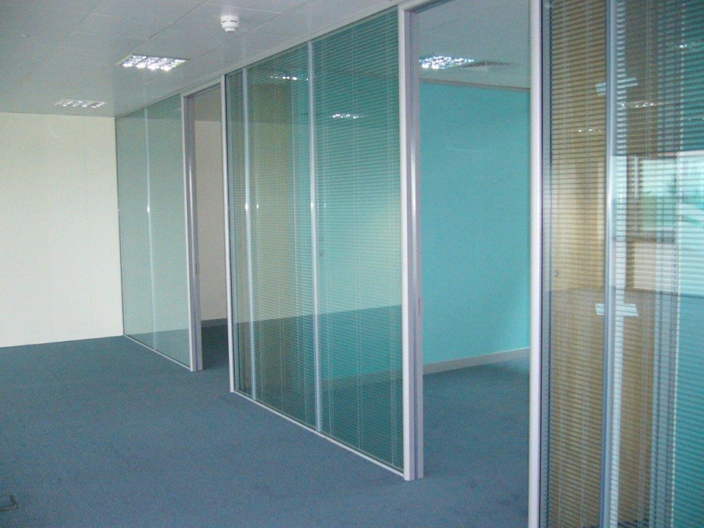 New glass offices
