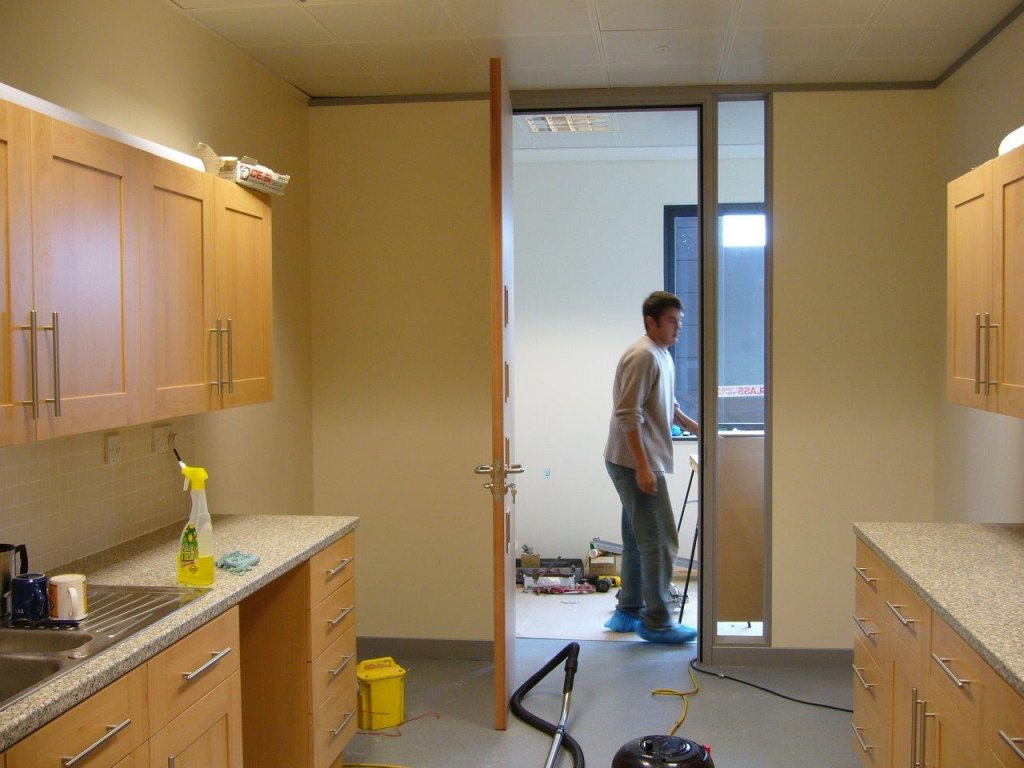 Office partitioning in Bridgewater