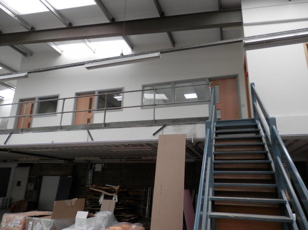 office fit out for Coombe Castle in Melksham