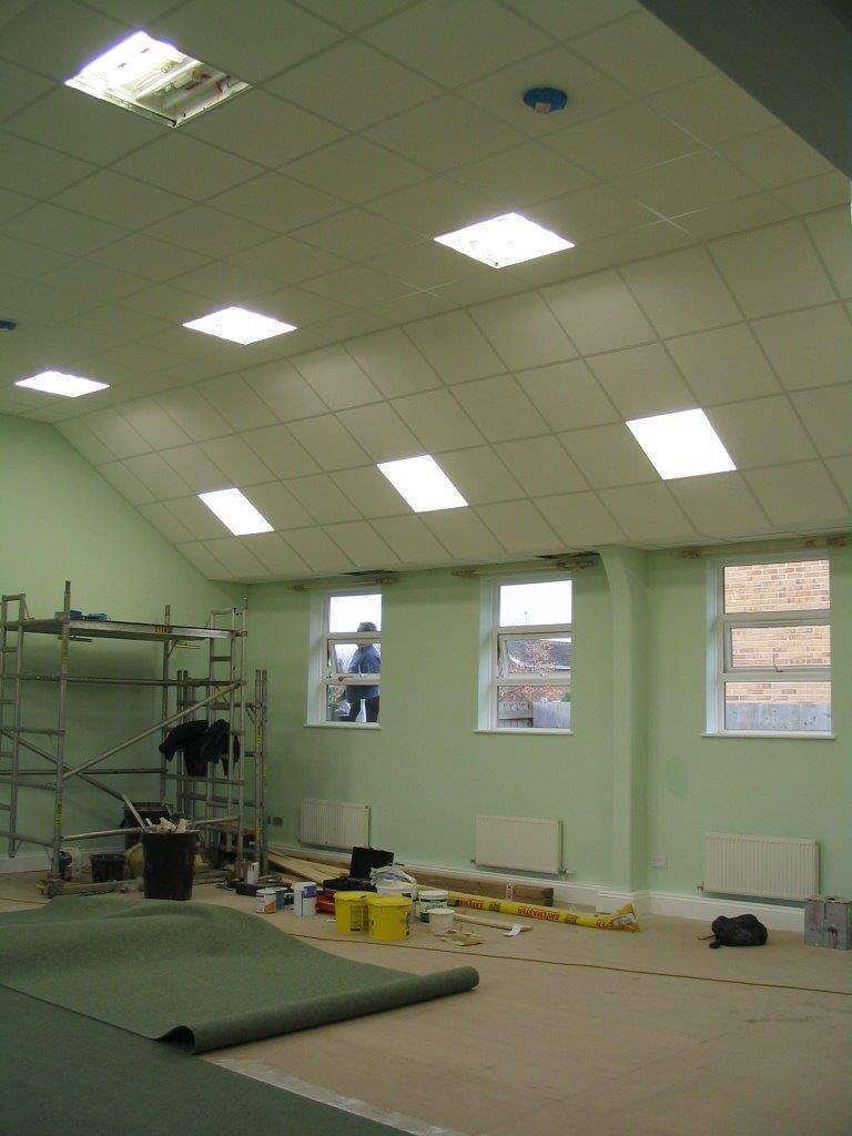 Suspended Ceiling in Swindon for Walcot Church