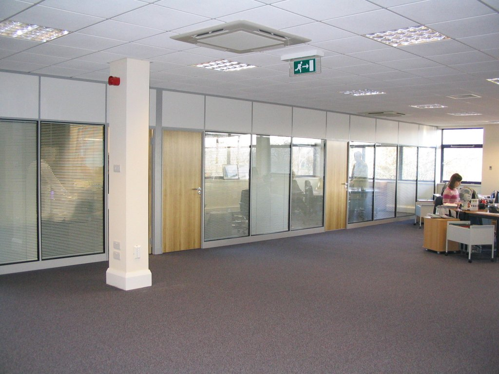 50mm wide composite partitions for APS Mortgages