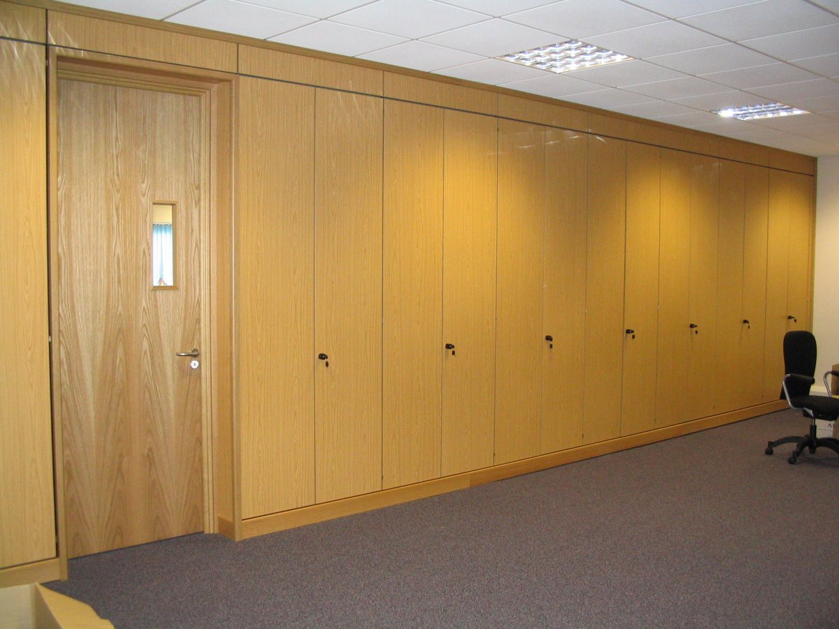 Storage wall in Swindon for APS