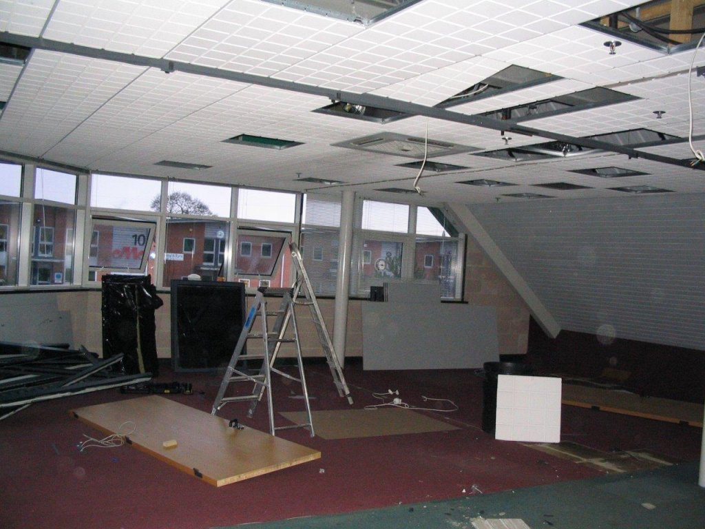 More office stripping