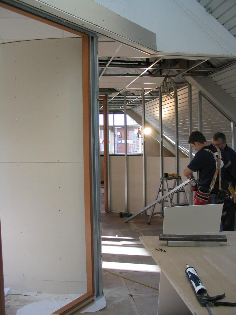 Office partitioning for Smurfit Kappa in Bristol
