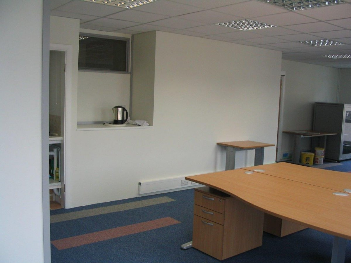 Office space planning in Bath for Regency Laundry