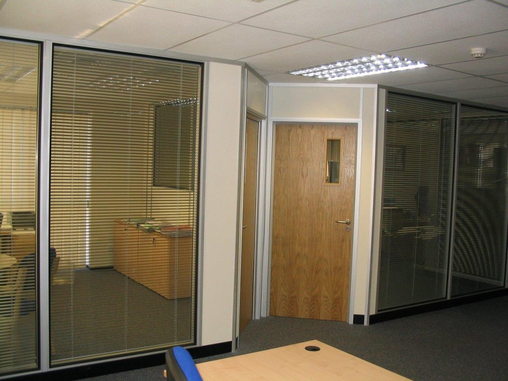 Office partition in chippenham