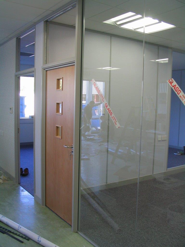 Complete office fit out in Taunton