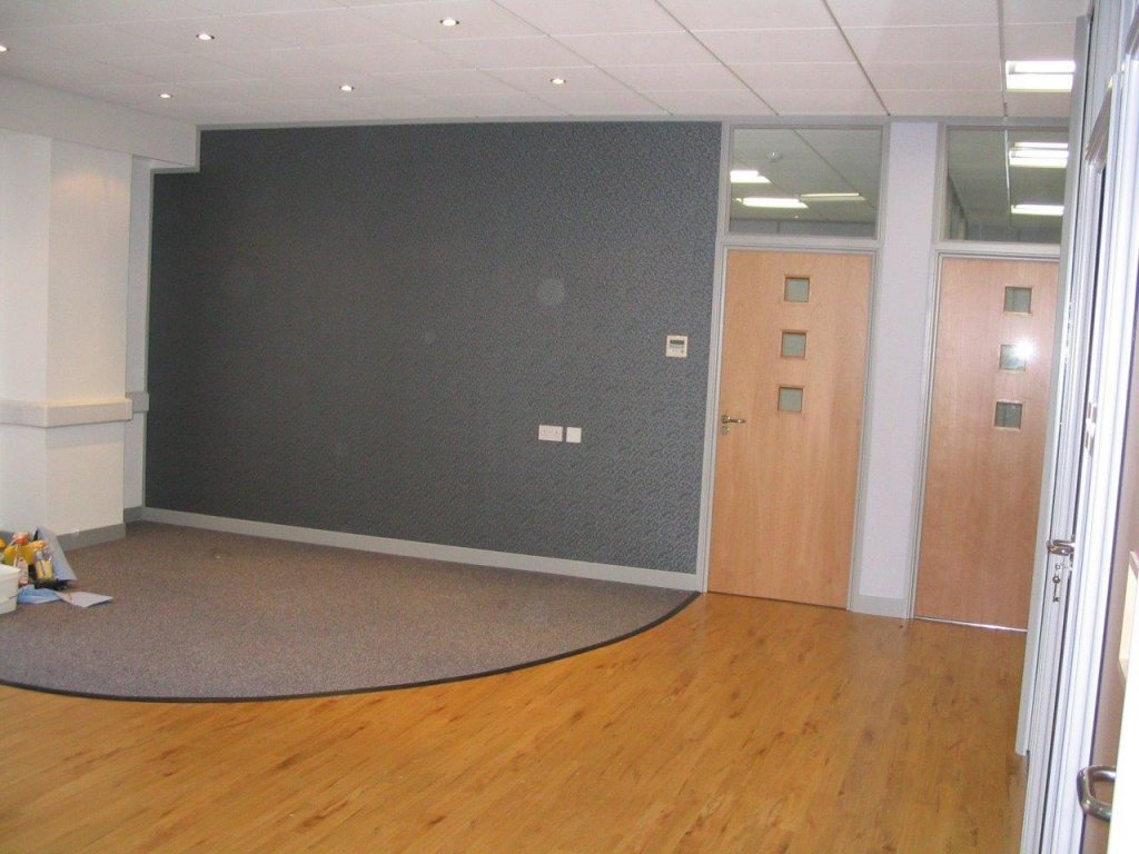 Office reception refit in Taunton
