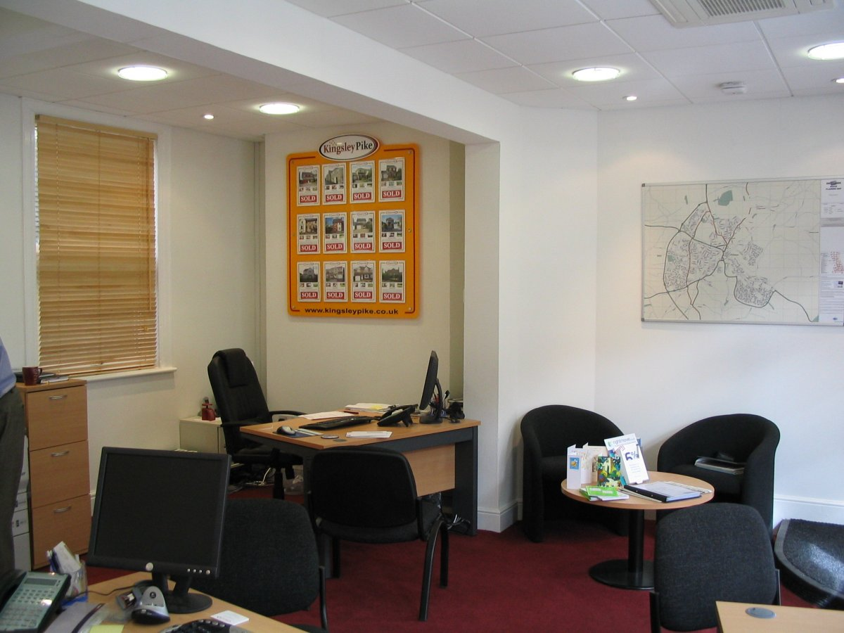 Kingsley Pike Estate Agents refurbishment