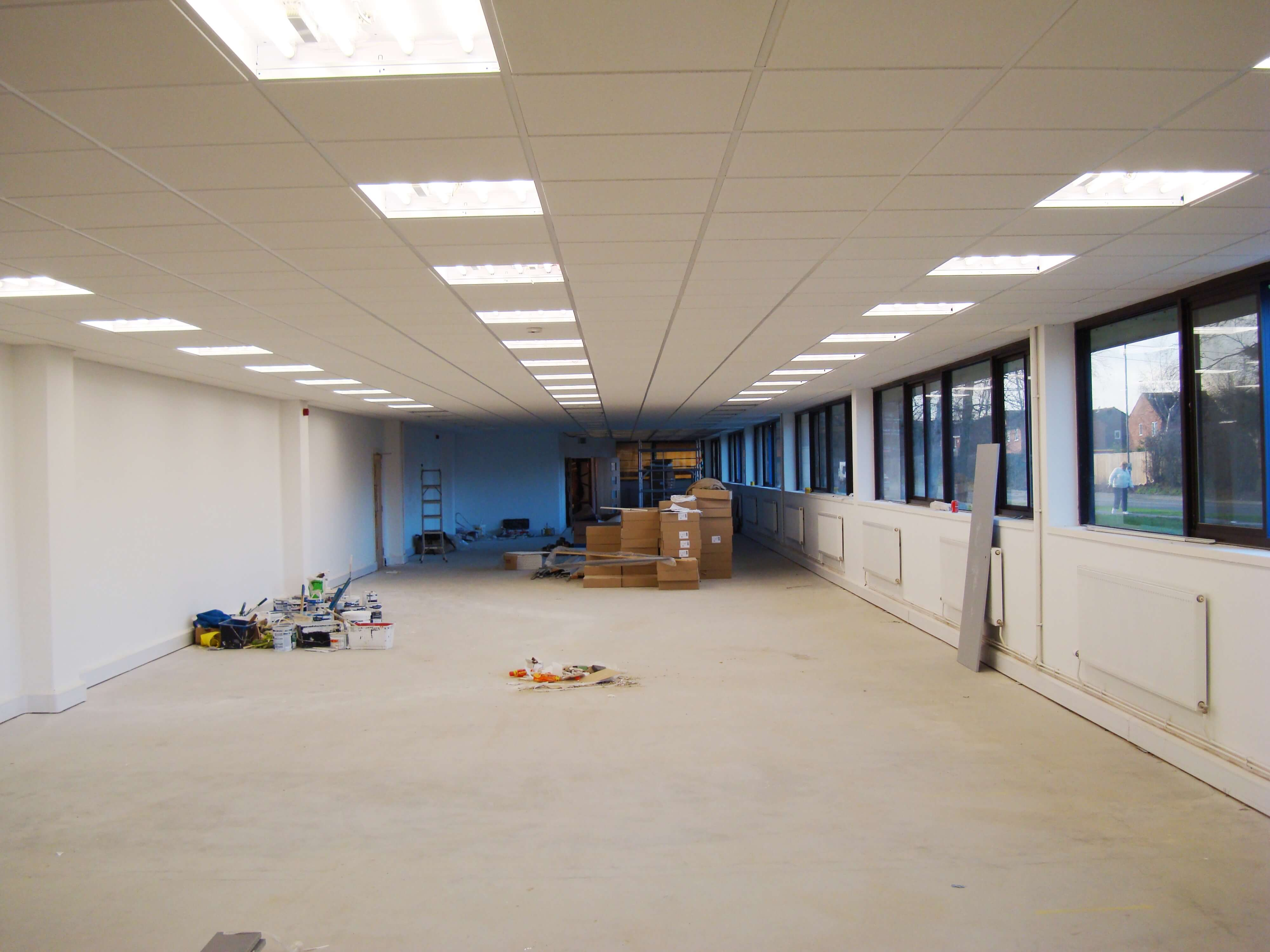 Suspended Ceiling installationSuspended Ceiling installation