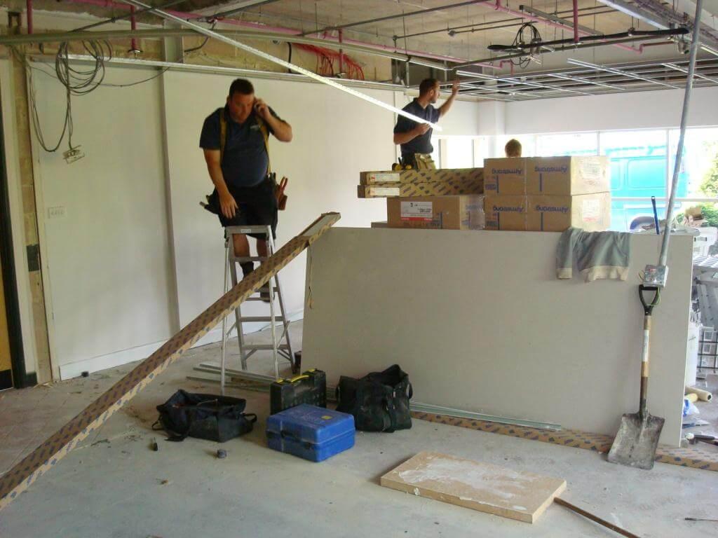 Office refurbishment in Bristol for Smurfit Kappa