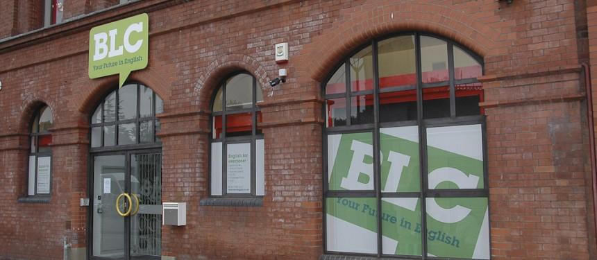 Jumbo stud wall for Bristol Language Center Bristol
