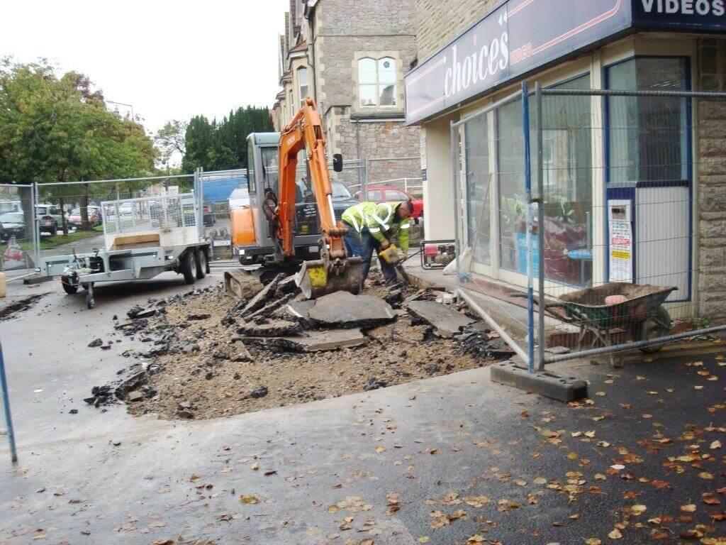 Refurbishment work in Weston Super Mare