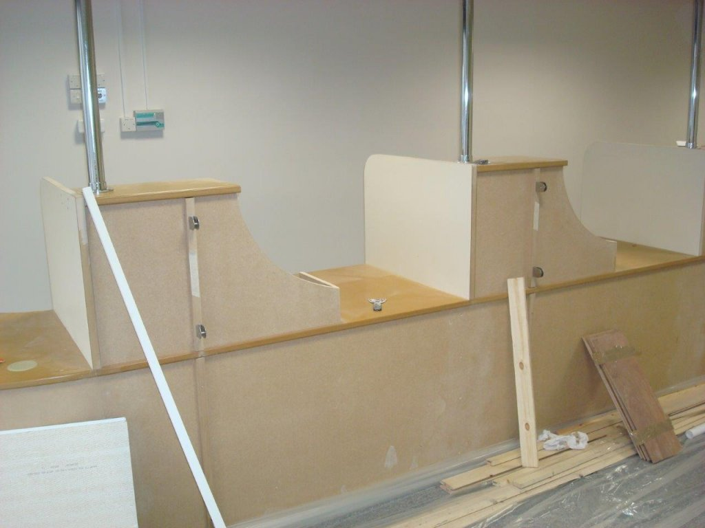Reception desk for Bristol City Council