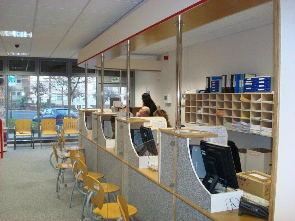 Reception desk for Bristol City Council