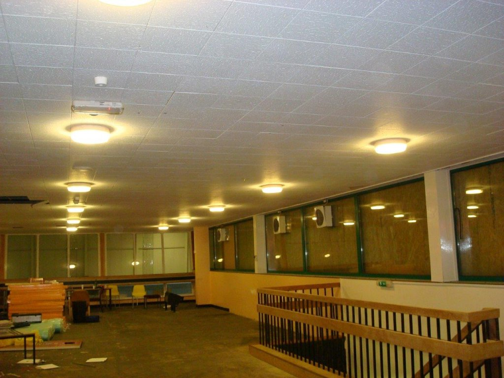 Suspended Ceiling for Calne Leisure Centre