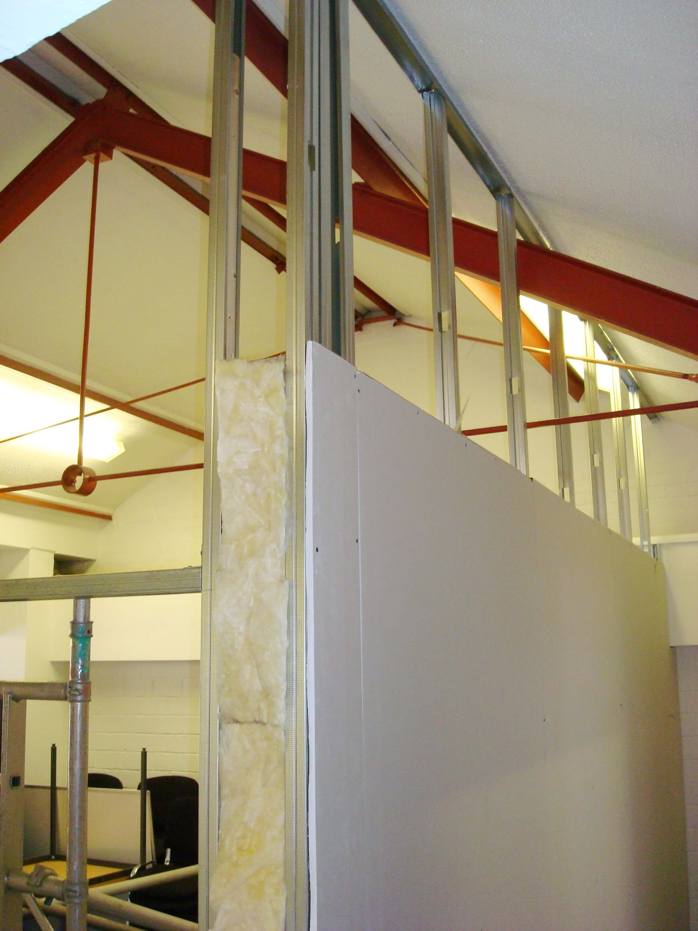 Jumbo Stud Partitioning In Bristol Cre8tive Interiors