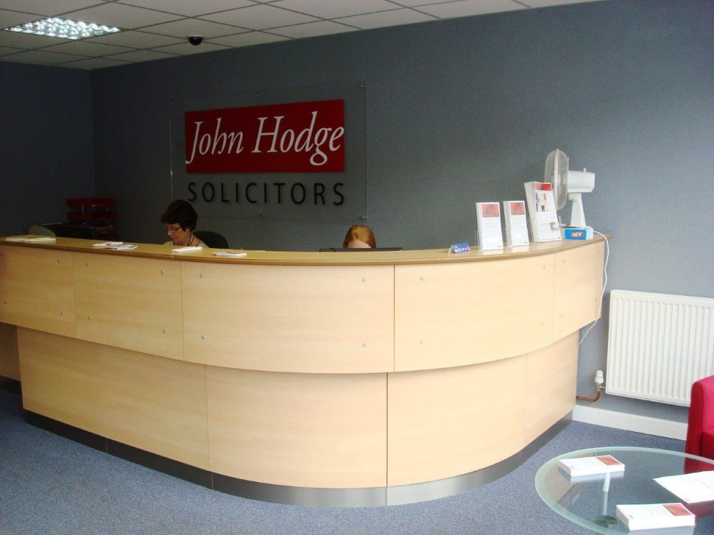 Design and refurbishment for John Hodge Solicitors in Weston Super Mare