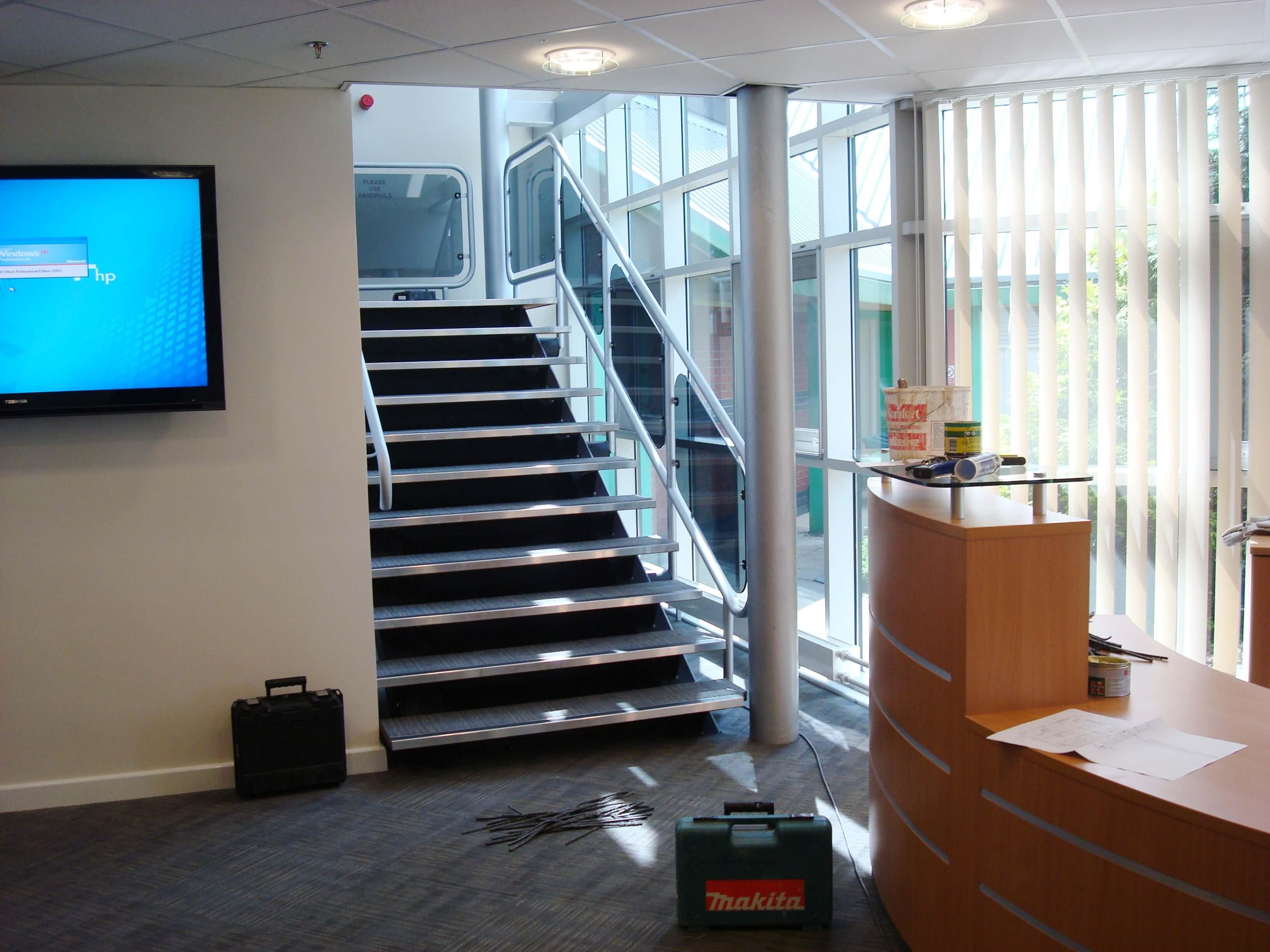Reception and Office Refurbishment in Bristolv