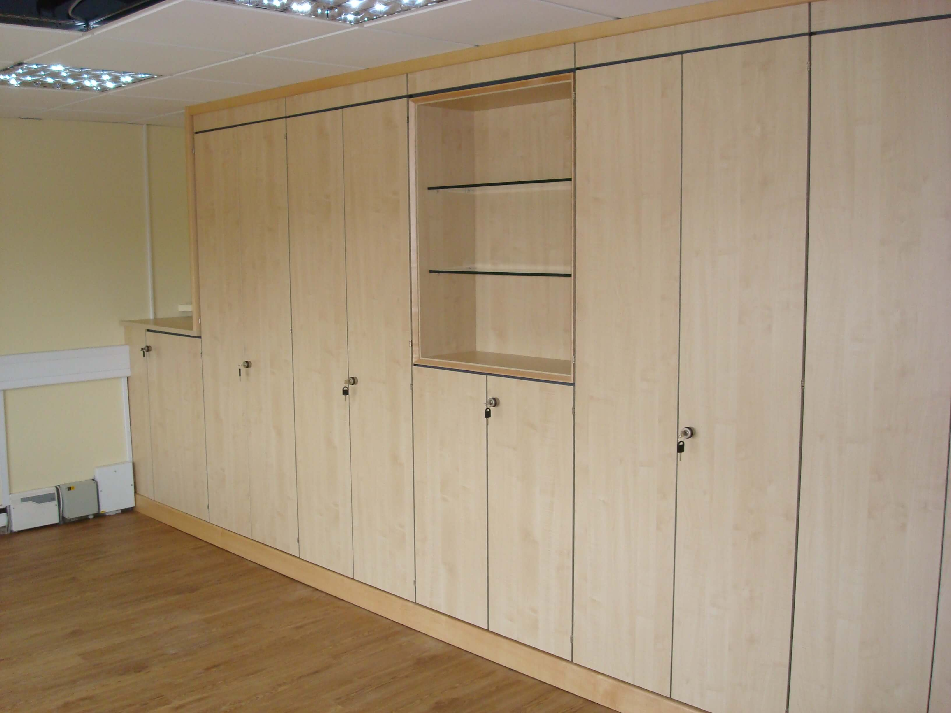 Storage wall in Chippenham
