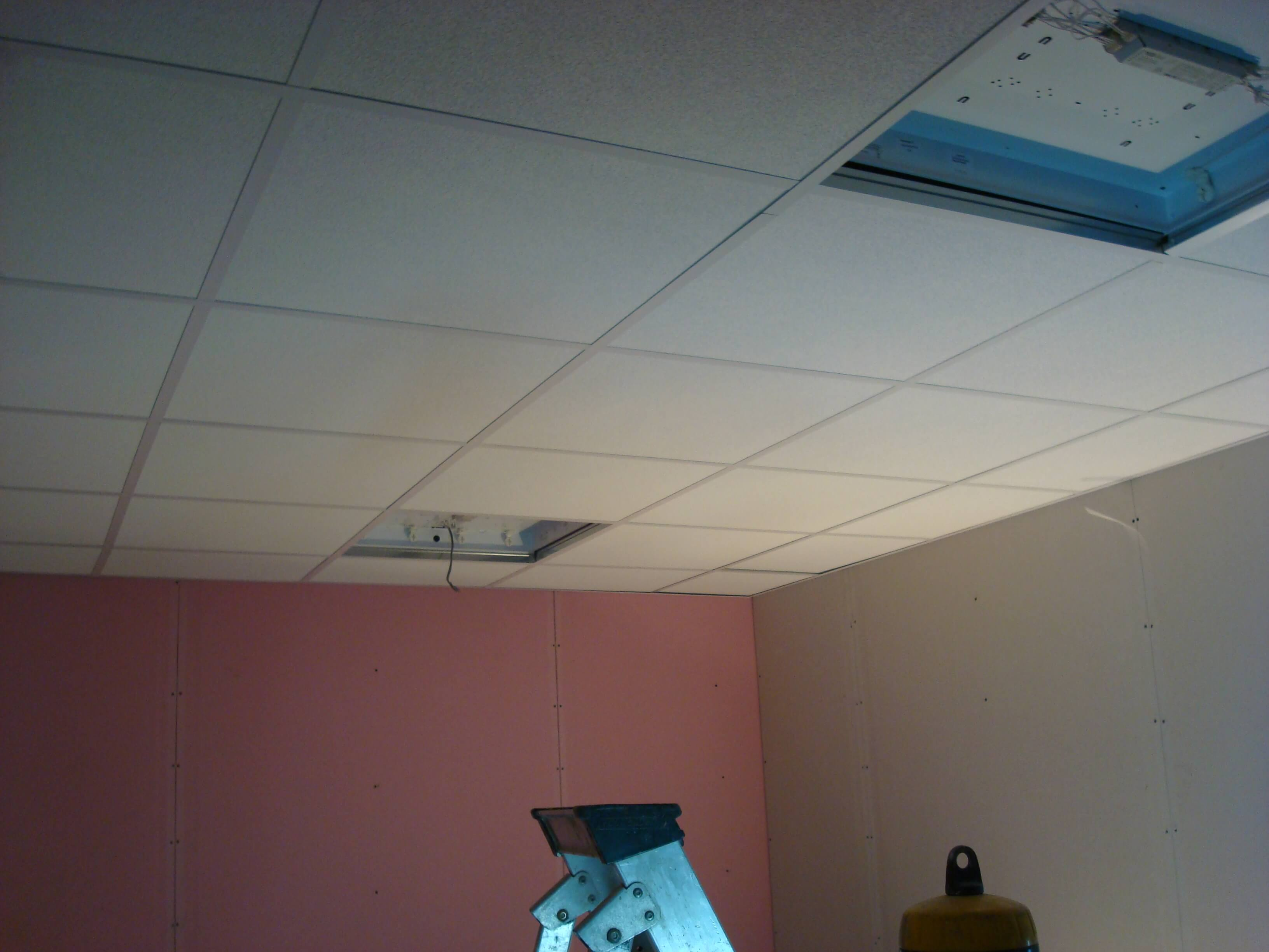New suspended ceiling