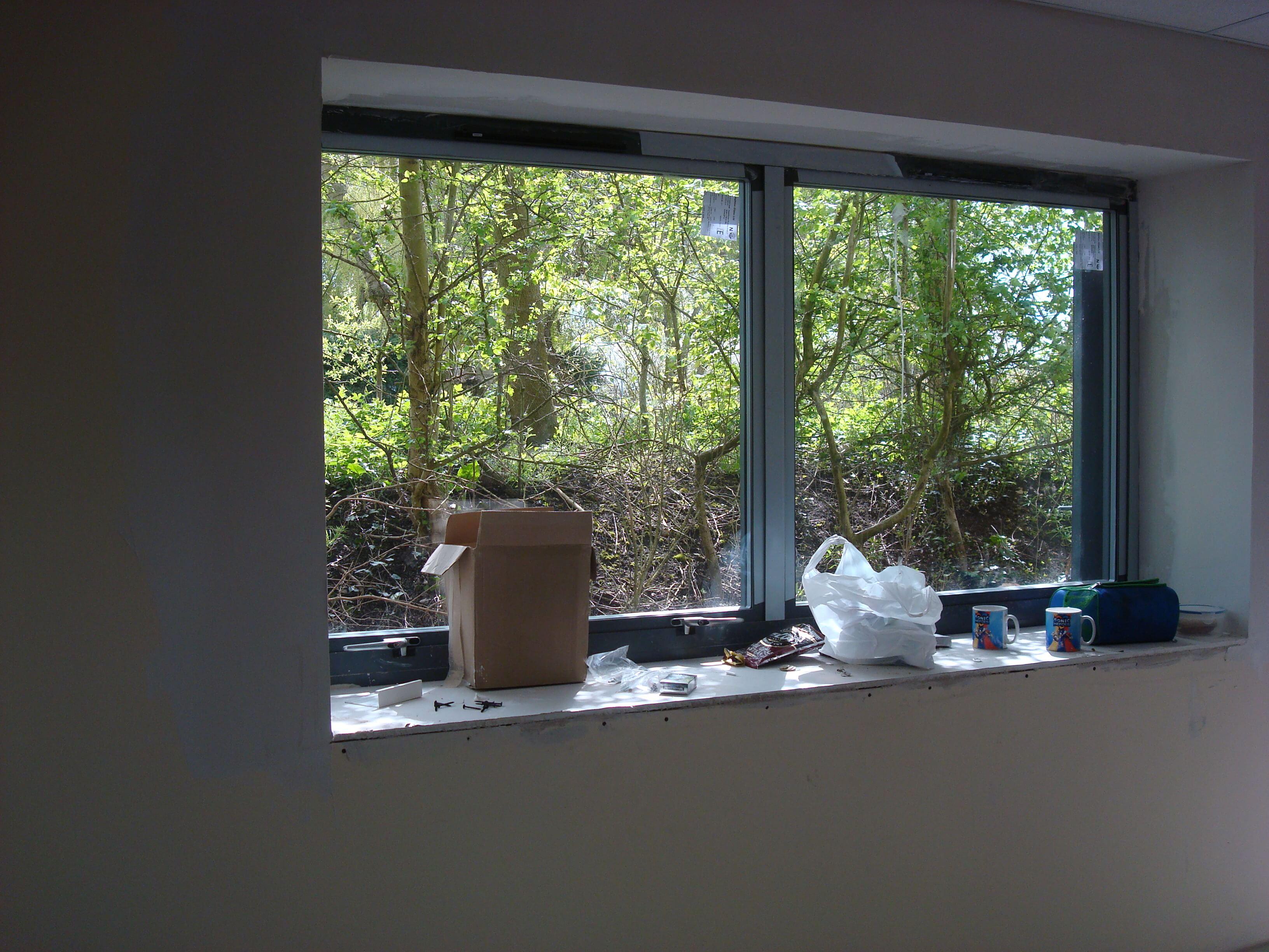 New windows downstairs