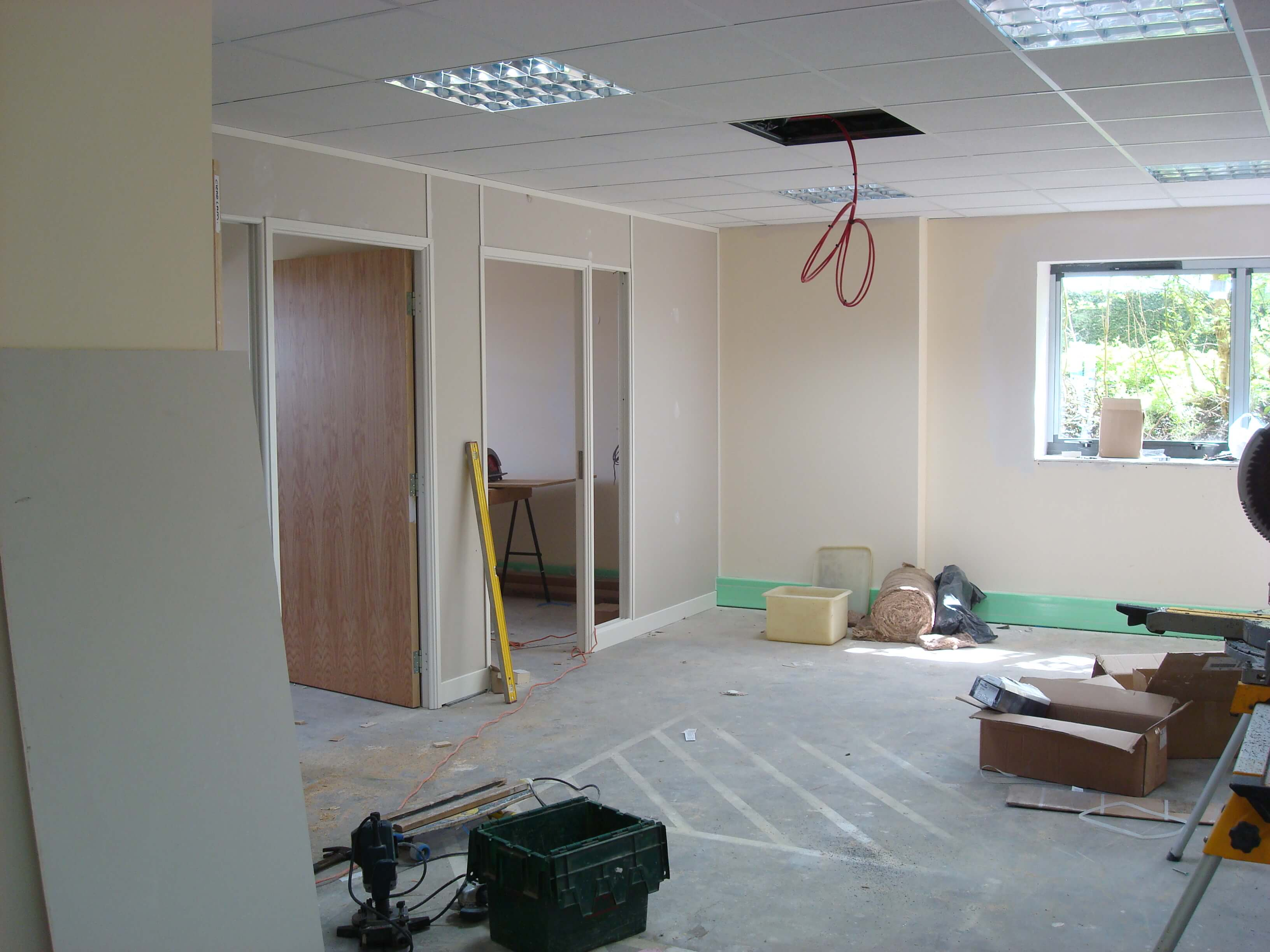 Demountable Partitioning for Scott Law