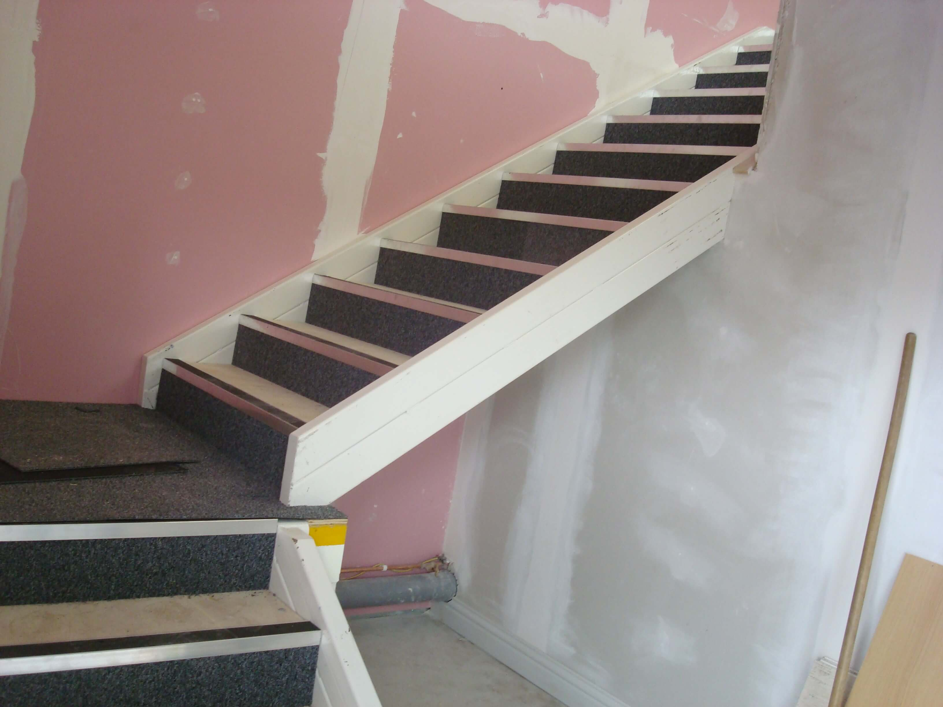 Stairs taking shape
