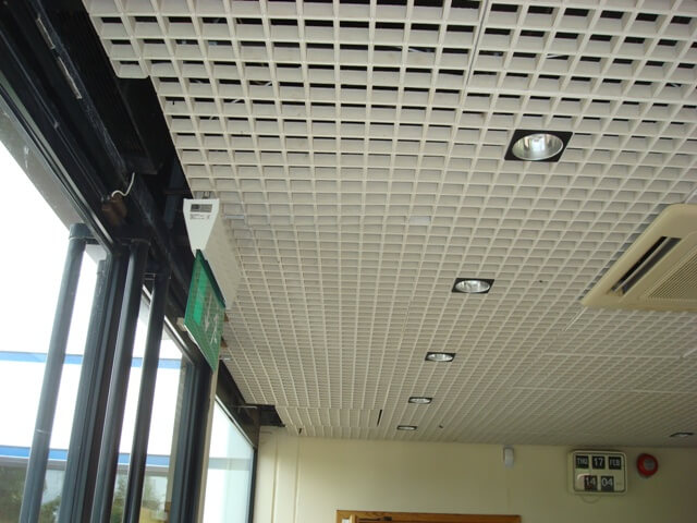 Suspended ceiling for ejs chippenham cre8tive interiors uk egg crate grill suspended ceiling doublecrazyfo Images