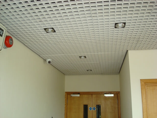 Suspended ceiling in chippenham cre8tive interiors uk egg crate grill suspended ceiling doublecrazyfo Images