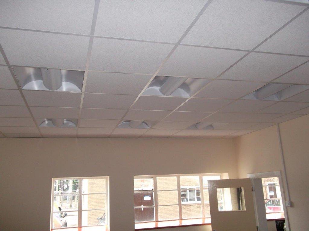 Suspended ceiling in Melksham for Melksham sub Station