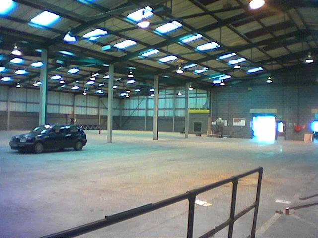 Factory refurbishment in Chippenham