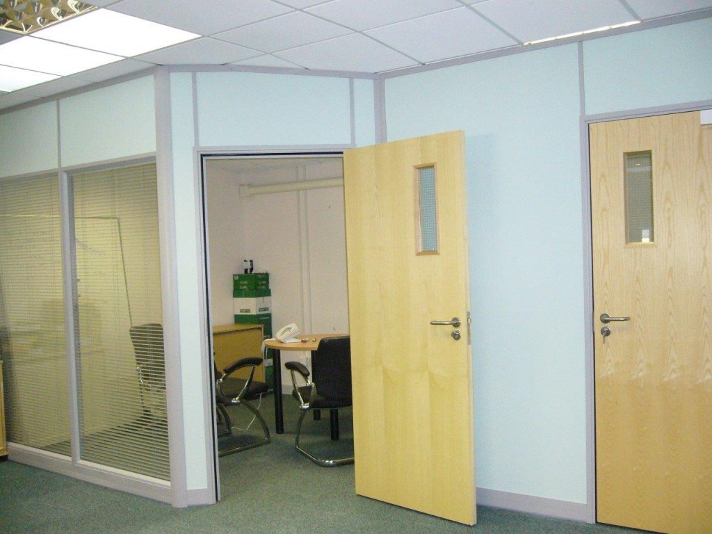 Demountable Partition for Mango Solutions in Chippenham