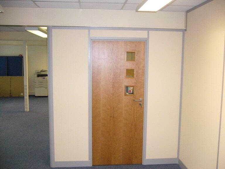 Better view of the matching door.