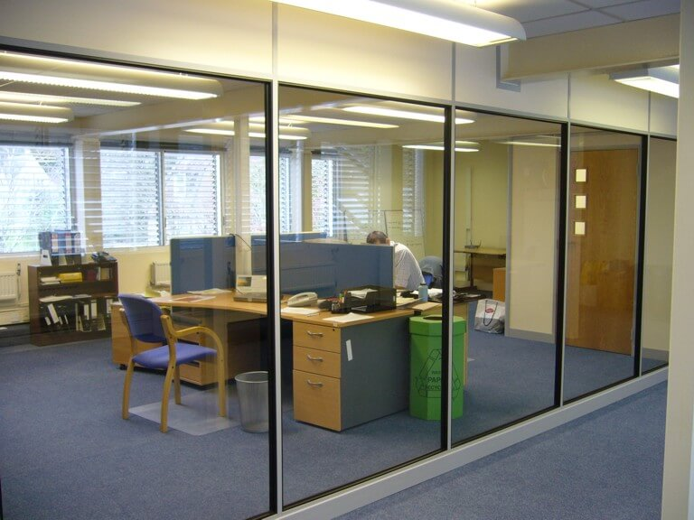Demountable partitioning in Bath for Pegasus Waste Management