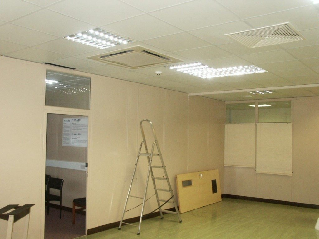 Office design and refurbishment for Thales Optronics in Taunton