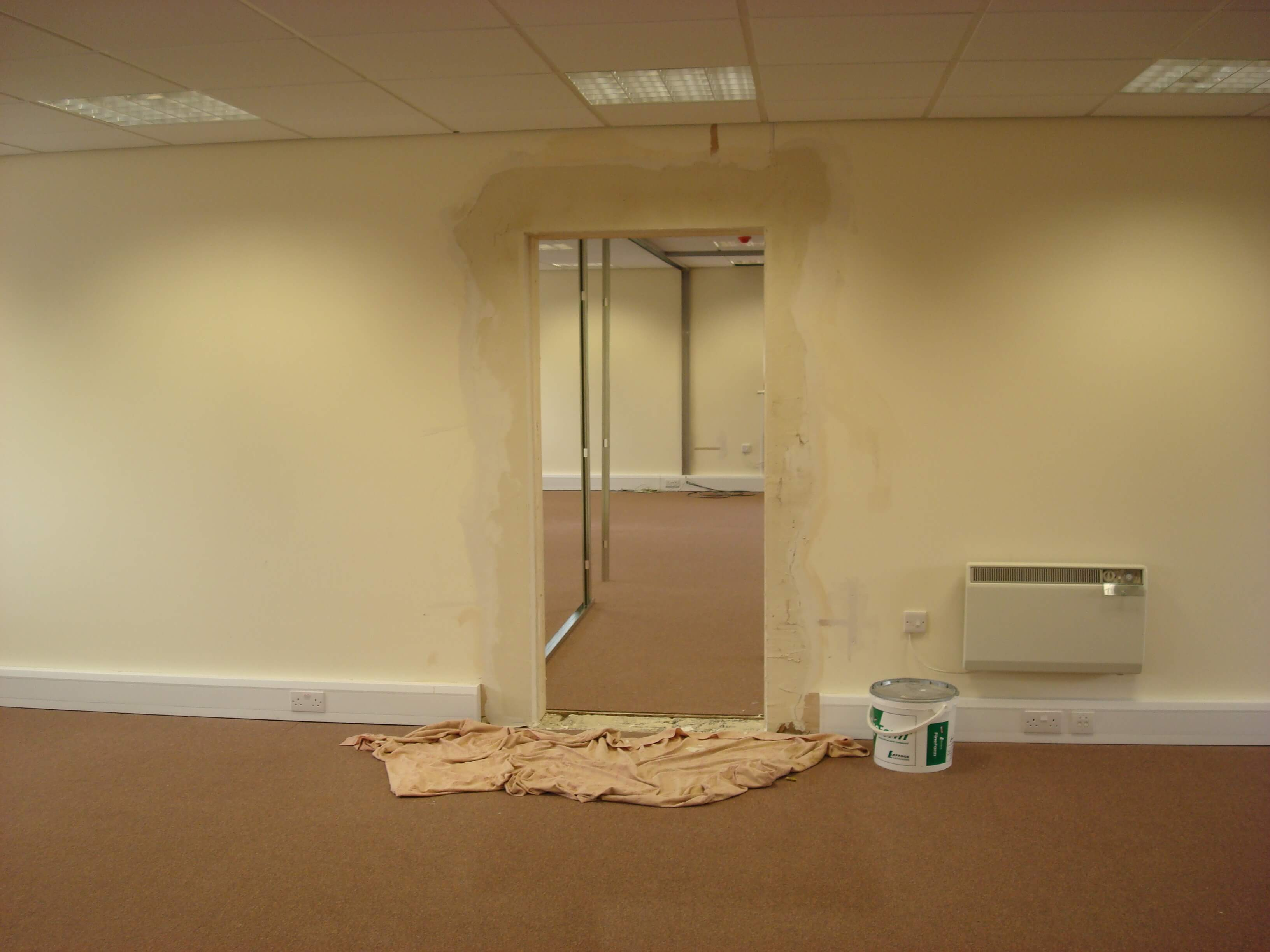 Office fit out for John Hodge Solicitors in Weston Super Mare