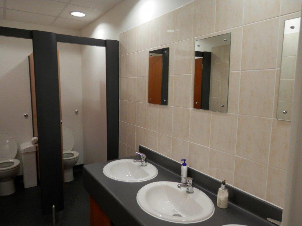 Valldata toilet refurbishment