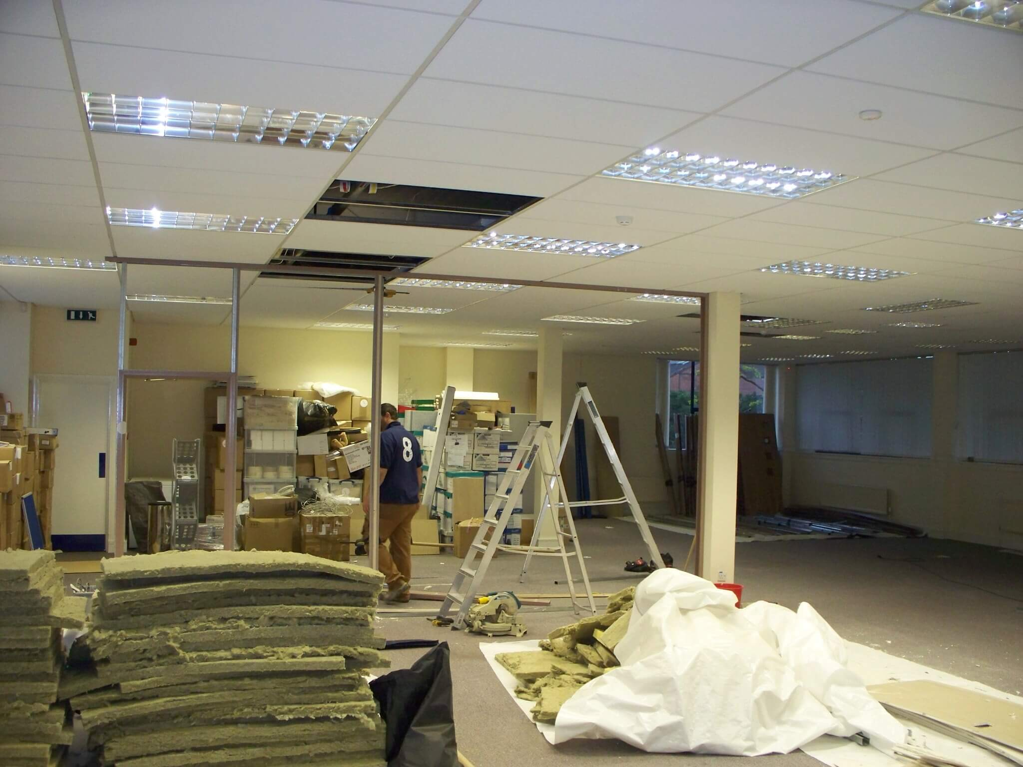 Cre8tive Interiors office refurbishment