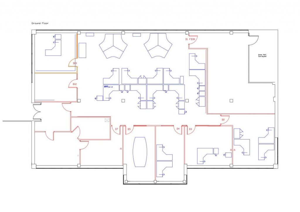 Design work to show downstairs space