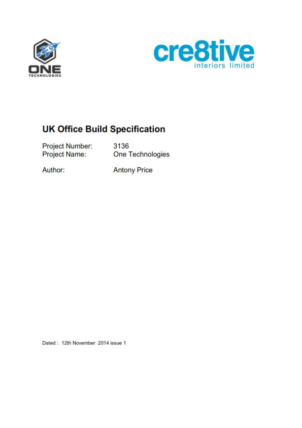 Build Specification