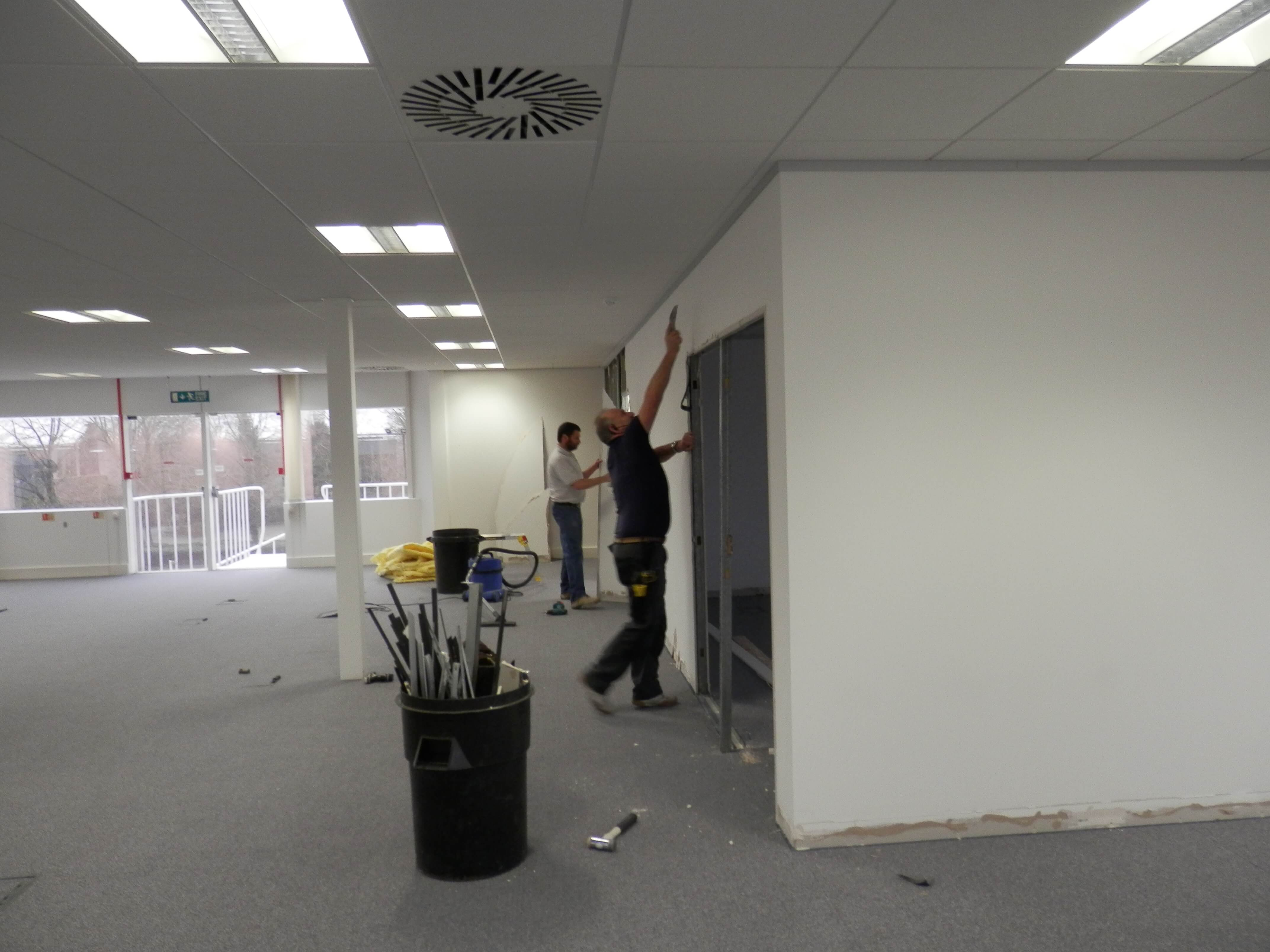 Stripping existing partitions out