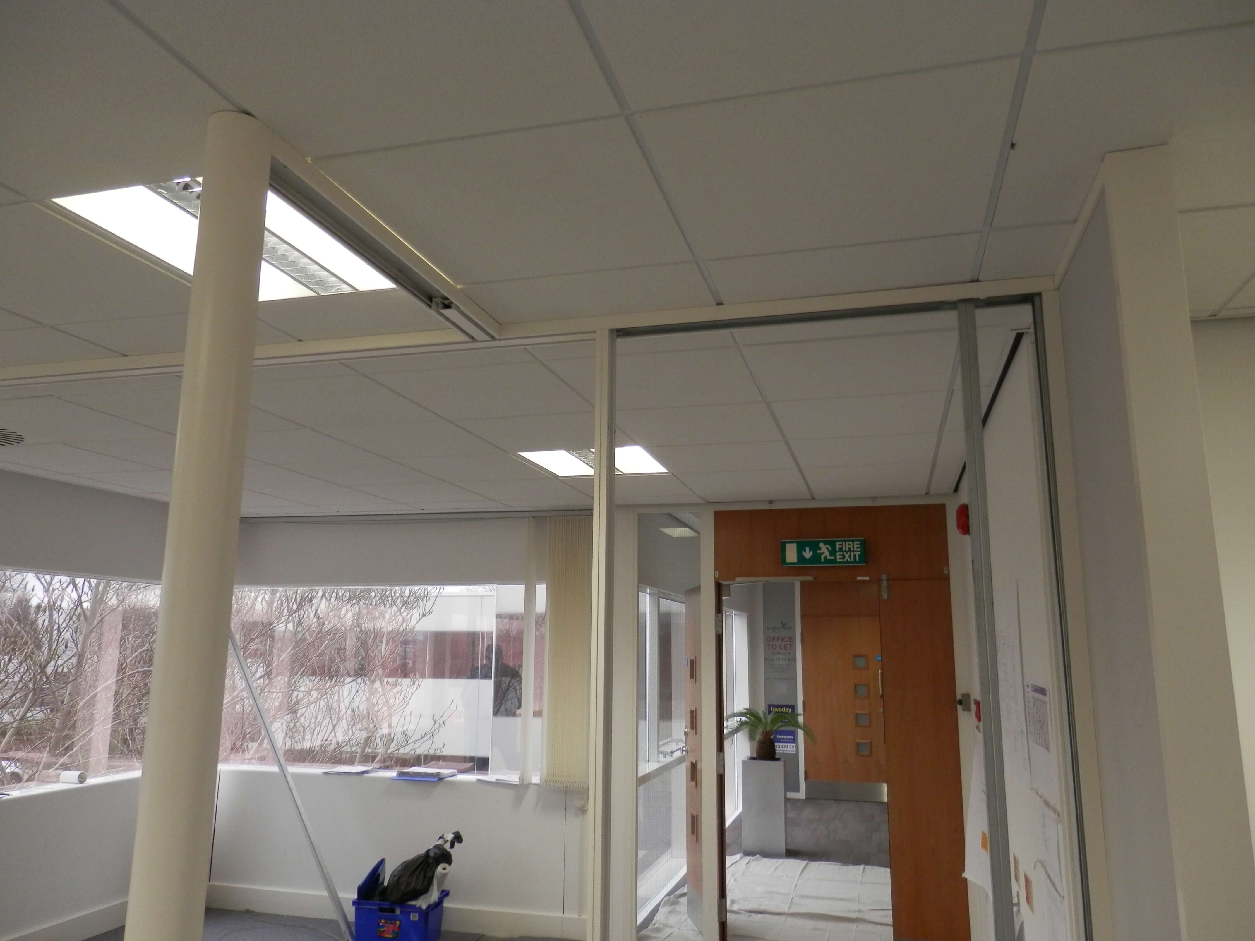 Polar double glazed partitions.