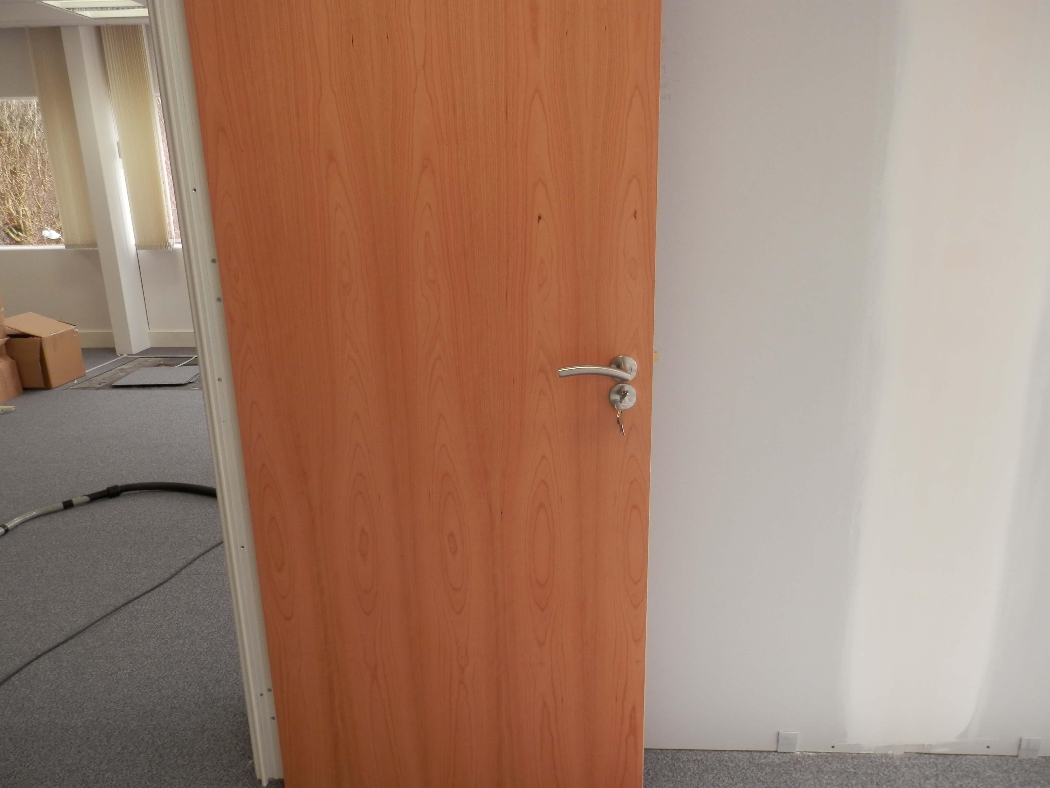Nice door handles.