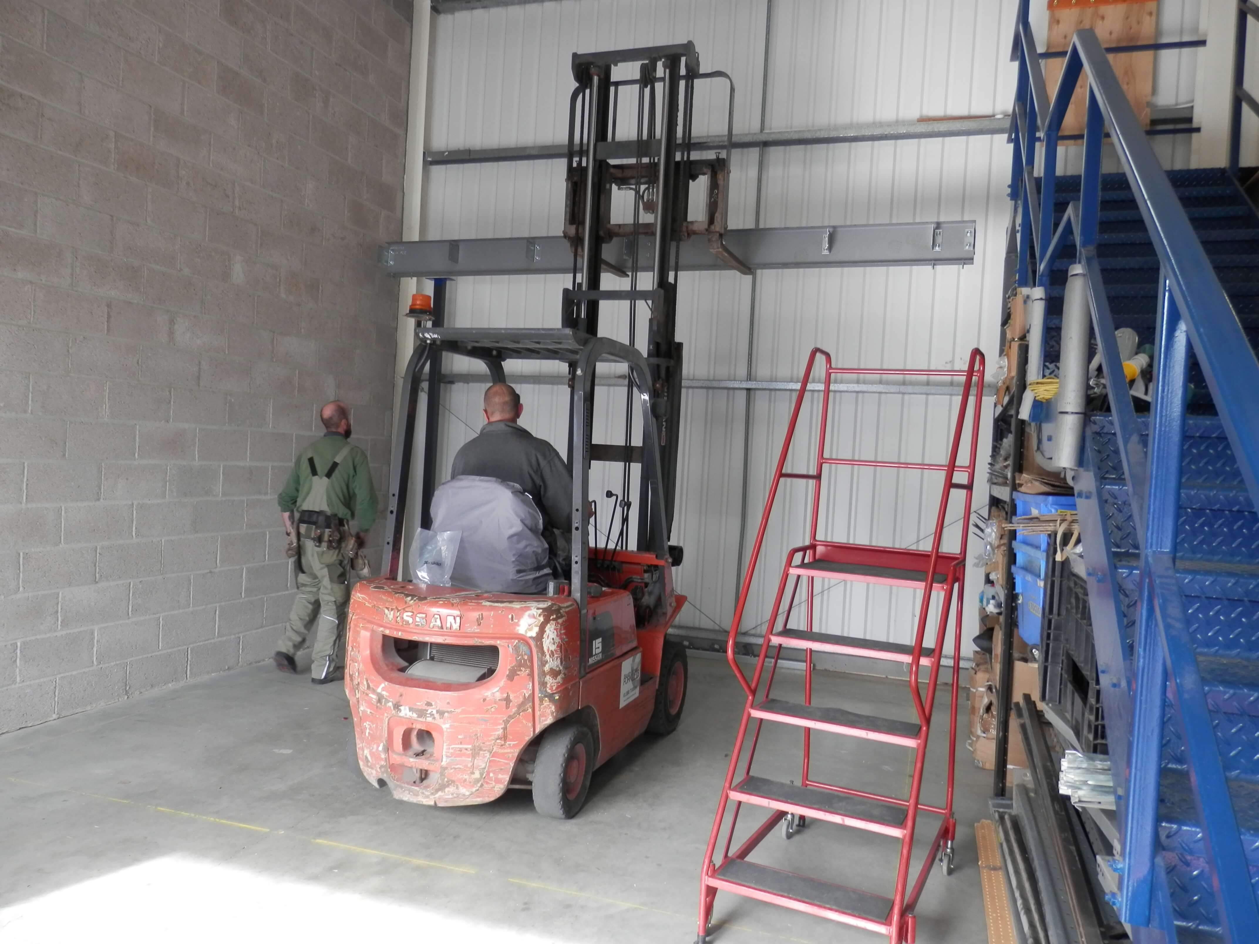 Essential a forklift is used