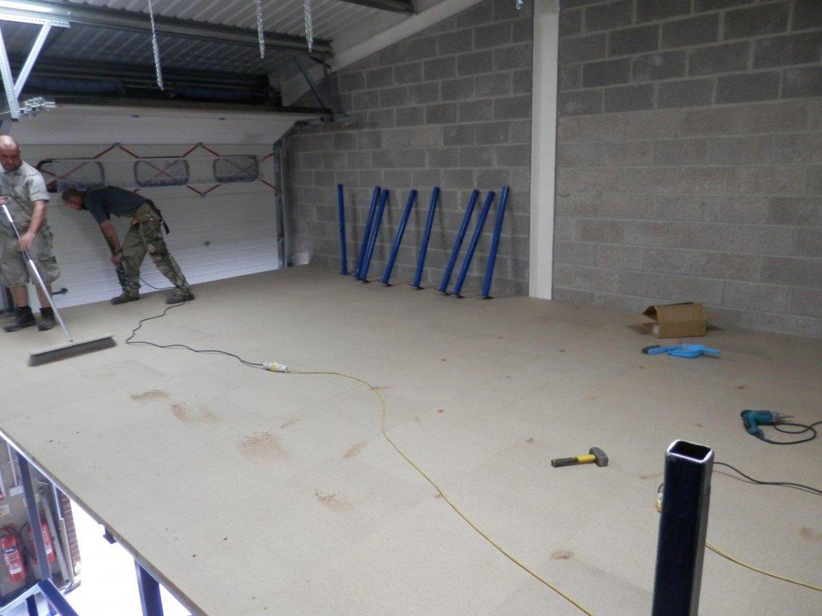 Mezzanine Floor for Henrich Hardware