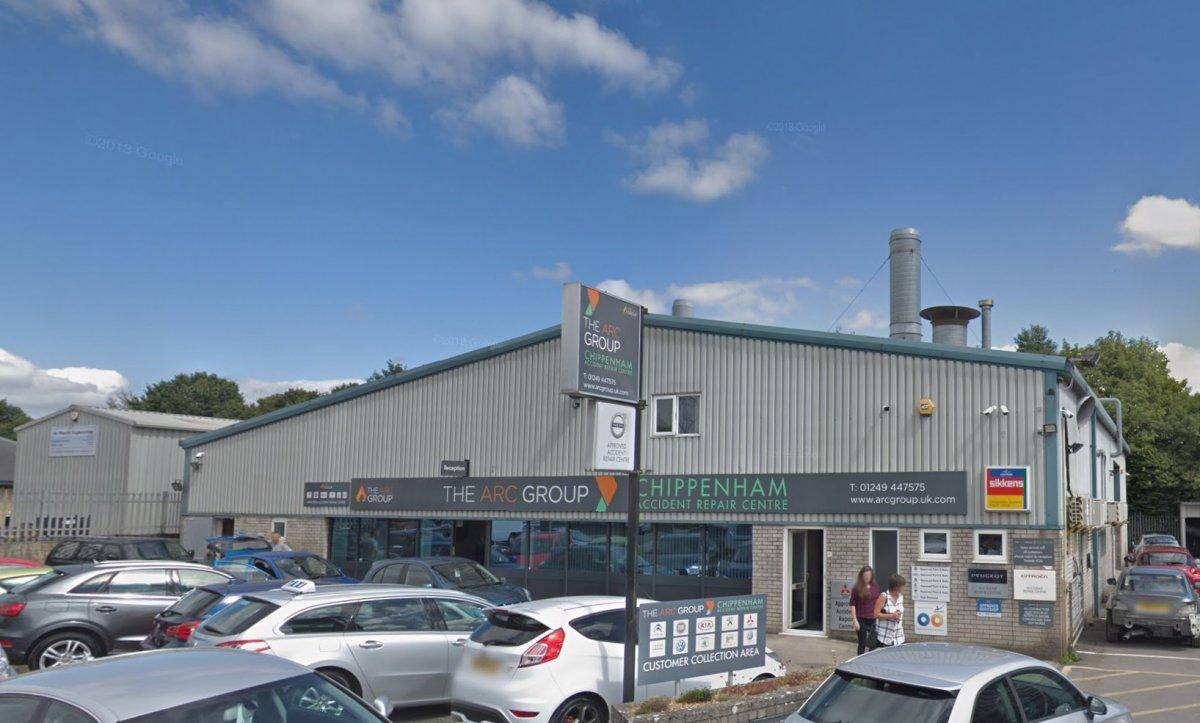 Suspended Ceiling for Chippenham Accident Repair Centre